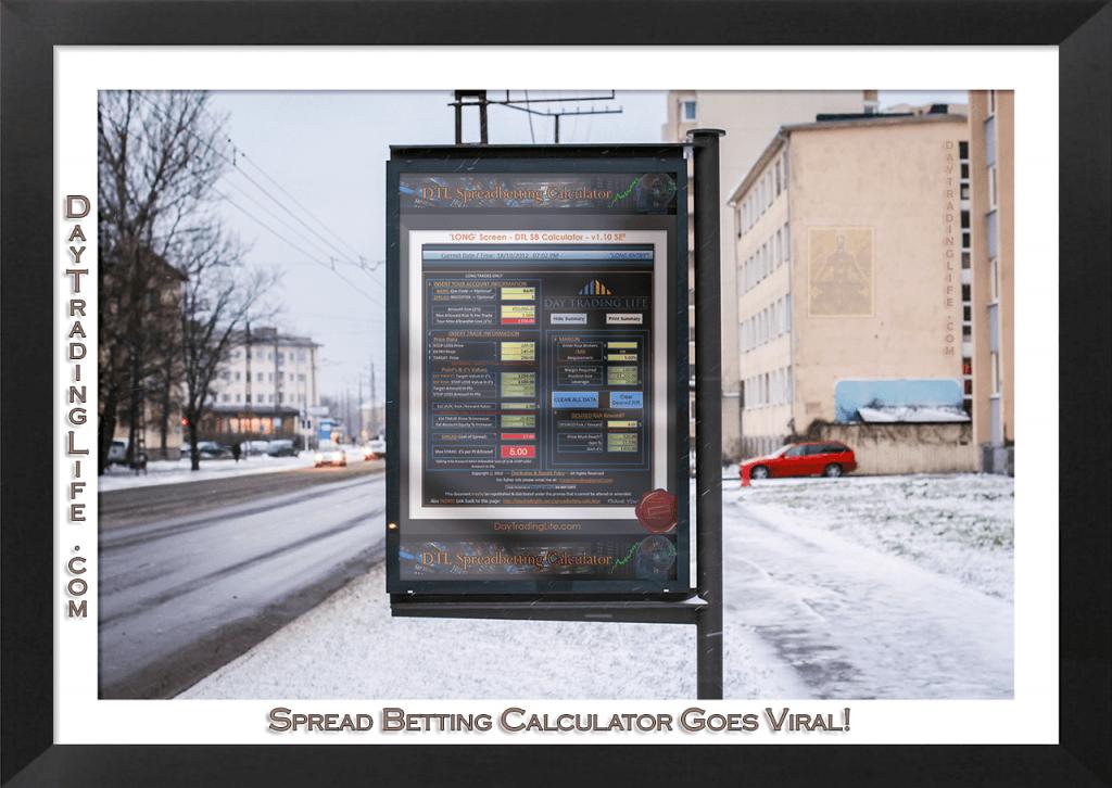Spread Betting Calculator Advertising Board
